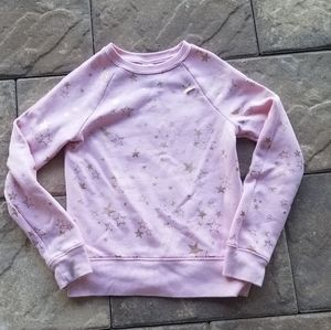Pink star long sleeve shirt